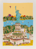 Prints & Multiples:Print, Susan Pear Meisel (b. 1930). Statue of Liberty. Screenprint in colors on wove paper. 47 x 35 inches (119.4 x 88.9 cm) (s...