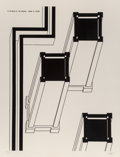 Prints & Multiples:Print, Robert Morris (b. 1931). Towers of Silence, from In the Realm of the Carceral, 1979. Etching with aquatint on wove p...