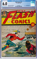 Golden Age (1938-1955):Superhero, Flash Comics #10 (DC, 1940) CGC FN 6.0 Cream to off-white pages....