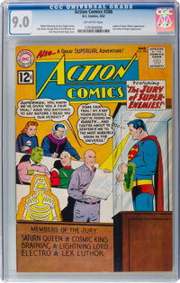 Action Comics #286 (DC, 1962) CGC VF/NM 9.0 Off-white pages