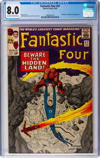 Fantastic Four #47 (Marvel, 1966) CGC VF 8.0 Off-white to white pages