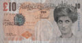 Prints & Multiples:Contemporary (1950 to present), Banksy X Banksy of England. Di-Faced Tenner, 10 GBP Note, 2005. Offset lithograph in colors on paper. 3 x 5-5/8 inches (...