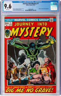 Journey Into Mystery #1 (Marvel, 1972) CGC NM+ 9.6 White pages