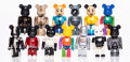 Collectible:Contemporary, BE@RBRICK . Group of 13 ToyCon 100% Be@rbricks, 2001-02. Painted cast resin. 2-3/4 x 1-1/2 x 3/4 inches (7 x 3.8 x 1.9 c... (Total: 2 Items)