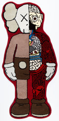 Collectible:Contemporary, KAWS X OriginalFake X Gallery 1950. Companion Mat, 2016. Polyester rug. 76 x 36 inches (193.0 x 91.4 cm). Produced by Or...
