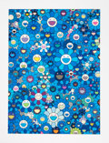 Prints & Multiples:Print, Takashi Murakami (Japanese, b. 1962). An Homage to IKB, 1957, 2011. Offset lithograph in colors on smooth wove paper. 29...