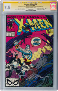 X-Men #248 Signature Series: Stan Lee and Others (Marvel, 1989) CGC VF- 7.5 Off-white to white pages
