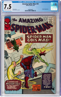 The Amazing Spider-Man #24 (Marvel, 1965) CGC VF- 7.5 Cream to off-white pages