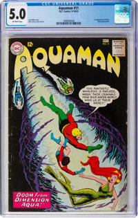 Aquaman #11 (DC, 1963) CGC VG/FN 5.0 Off-white pages