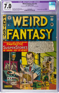 Golden Age (1938-1955):Science Fiction, Weird Fantasy #13 (#1) (EC, 1950) CGC Apparent FN/VF 7.0 Slight(C-1) Off-white to white pages....