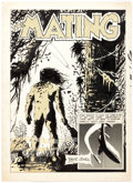 Original Comic Art:Splash Pages, Bruce Jones The Mating Splash Page Original Art (1971)....