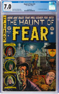 Golden Age (1938-1955):Horror, Haunt of Fear #12 (EC, 1952) CGC FN/VF 7.0 Cream to off-white pages....