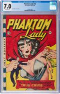 Golden Age (1938-1955):Superhero, Phantom Lady #18 (Fox Features Syndicate, 1948) CGC FN/VF 7.0 Off-white pages....