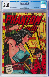 Phantom Lady #23 (Fox Features Syndicate, 1949) CGC GD/VG 3.0 Off-white to white pages