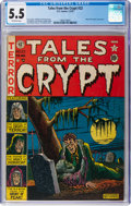 Golden Age (1938-1955):Horror, Tales From the Crypt #22 (EC, 1951) CGC FN- 5.5 Off-white pages....