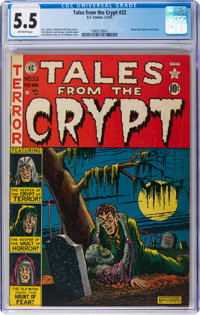 Tales From the Crypt #22 (EC, 1951) CGC FN- 5.5 Off-white pages