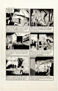 """Original Comic Art:Panel Pages, Pete Morisi (attributed) - Witches Tales #16 """"Weird Facts"""" Page Original Art (Harvey, 1952)..."""