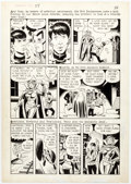 Original Comic Art:Panel Pages, Steve Ditko and Wally Wood Dynamo #4 Story Page 3 Original Art (Tower, 1967)....
