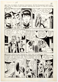 Steve Ditko and Wally Wood Dynamo #4 Story Page 3 Original Art (Tower, 1967)