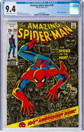 Bronze Age (1970-1979):Superhero, The Amazing Spider-Man #100 (Marvel, 1971) CGC NM 9.4 Off-white to white pages....