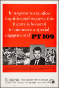 """Movie Posters:War, PT 109 (Warner Brothers, 1963). Very Fine on Linen. One Sheet (26.75"""" X 41.25""""). Style B. War.. ..."""