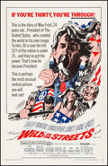 "Movie Posters:Exploitation, Wild in the Streets (American International, 1968). Very Fine- on Linen. One Sheet (27"" X 41""). Bob Peak Artwork. Exploitati..."