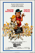 "Movie Posters:Sports, The Bad News Bears (Paramount, 1976). Folded, Very Fine-. One Sheet (27"" X 41""). Jack Davis Artwork. Sports.. ..."