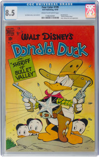 Four Color #199 Donald Duck (Dell, 1948) CGC VF+ 8.5 Cream to off-white pages