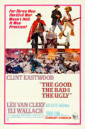 "Movie Posters:Western, The Good, the Bad and the Ugly (United Artists, 1968). Folded, Very Fine-. One Sheet (27"" X 41"").. ..."
