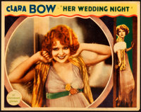 "Her Wedding Night & Other Lot (Paramount, 1930). Very Fine. Lobby Cards (2) (11"" X 14""). ... (Total: 2..."