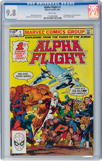 Alpha Flight #1 (Marvel, 1983) CGC NM/MT 9.8 White pages