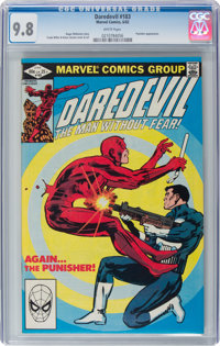 Daredevil #183 (Marvel, 1982) CGC NM/MT 9.8 White pages