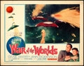 """Movie Posters:Science Fiction, The War of the Worlds (Paramount, R-1965). Fine/Very Fine. Lobby Card (11"""" X 14"""").. ..."""