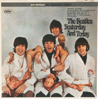 "The Beatles Yesterday and Today ""Butcher"" Cover Stereo Vinyl LP Third State (Capitol, ST 255"