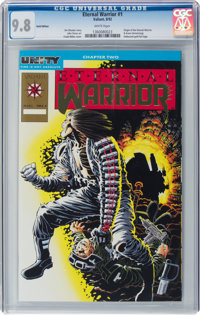 Eternal Warrior #1 Gold Edition (Valiant, 1992) CGC NM/MT 9.8 White pages
