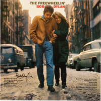Bob Dylan Signed The Freewheelin' Bob Dylan Reissue Mono Vinyl LP (Music On Vinyl/Columbia