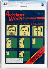 MAGAZINES: Aviation Week & Space Technology Dated February 17, 1986, Directly From The Armst