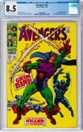 Silver Age (1956-1969):Superhero, The Avengers #52 (Marvel, 1968) CGC VF+ 8.5 Off-white to white pages....