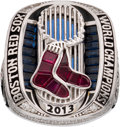 Baseball Collectibles:Others, 2013 Boston Red Sox World Series Championship Ring....