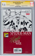 Modern Age (1980-Present):Superhero, The Amazing Spider-Man #533 Convention Edition (Marvel, 2006) CGCSignature Series NM+ 9.6 White pages....