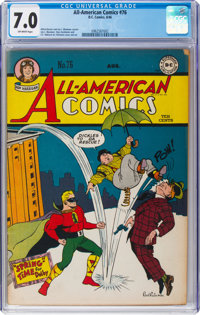 All-American Comics #76 (DC, 1946) CGC FN/VF 7.0 Off-white pages