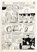 Original Comic Art:Panel Pages, Sid Greene Mystery In Space #77 Story Page 3 Original Art (DC Comics, 1962). ...