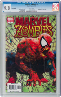 Marvel Zombies #1 Variant Edition (Marvel, 2006) CGC NM/MT 9.8 White pages