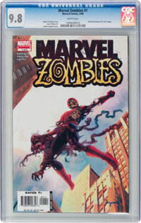 Marvel Zombies #1 (Marvel, 2006) CGC NM/MT 9.8 White pages