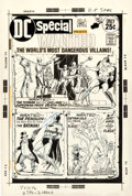 Original Comic Art:Covers, Murphy Anderson DC Special #14 Wanted: The World's Most Dangerous Villains Cover Superman, Batman, and...