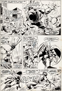 John Buscema and Dick Giordano Thor #231 Page 23 Original Art (Marvel, 1975)