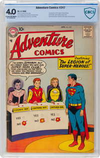 Adventure Comics #247 (DC, 1958) CBCS VG 4.0 Cream to off-white pages