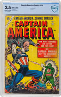 Golden Age (1938-1955):Superhero, Captain America Comics #78 (Atlas, 1954) CBCS GD+ 2.5 Cream tooff-white pages....