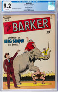 Golden Age (1938-1955):Miscellaneous, The Barker #5 Mile High Pedigree (Quality, 1947) CGC NM- 9.2 White pages....