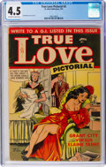 Golden Age (1938-1955):Romance, True Love Pictorial #2 (St. John, 1953) CGC VG+ 4.5 Off-white towhite pages....